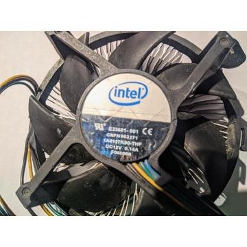 Chłodzenie cooler Intel LGA 775 OEM sprawny