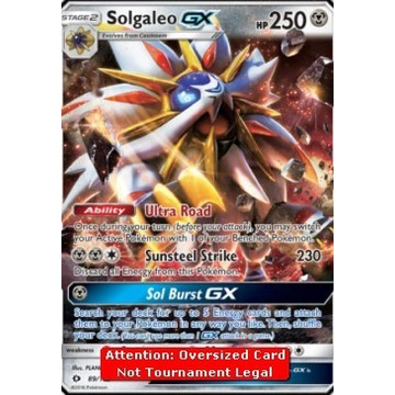 Pokemon Solgaleo GX (SUM 89) Sun & Moon XXL