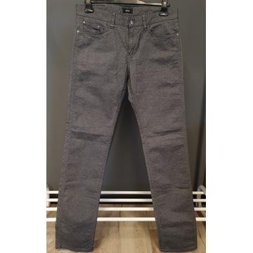 Spodnie Jeansy  HUGO BOSS 33/34 Szare