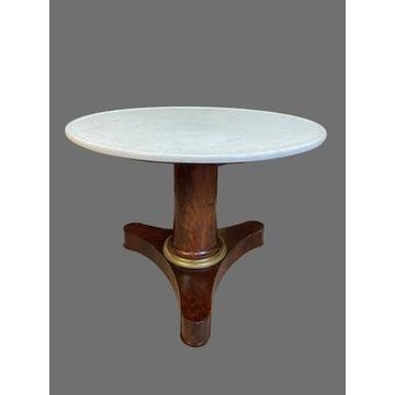 Piękny stolik stół Empire Oryginał Francja XIX w.