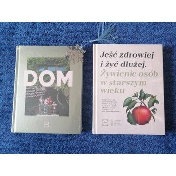 Książki LIDL - DOM i Jeść zdrowiej (folia)