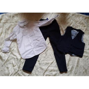 Koszula spodnie kamizelka dla chłopca 51015 r. 116