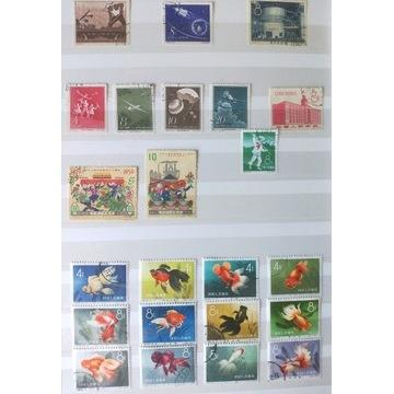 Znaczki Chiny , klaser - piękna kolekcja !!!