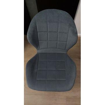 Zestaw krzeseł do jadalni grafitowe/szare