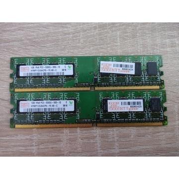 HYNIX PAMIĘĆ 2GB PC2 5300U DDR2 HYMP112U64CP8-Y5