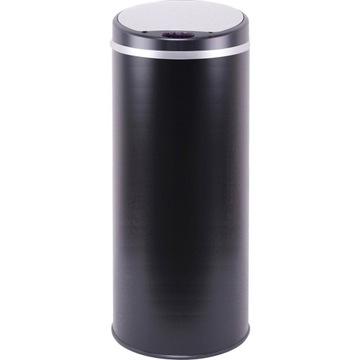 """Kosz """"Soho"""" w kolorze czarnym na śmieci z czujniki"""