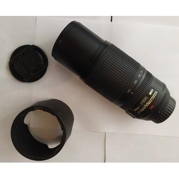 Nikon 70-300mm 4.5-5.6 G ED IF AF-S VR Super stan!