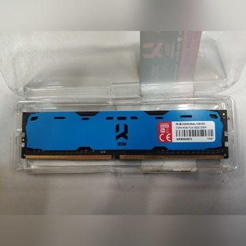 Goodram IRIDIUM DDR4 8GB niebieska.