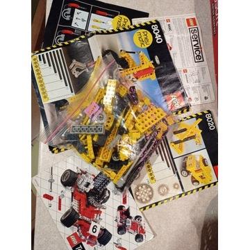 Klocki LEGO technic stare 8020 8040 instr kat ulot