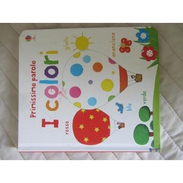 Książka dla małych dzieci do nauki włoskiego