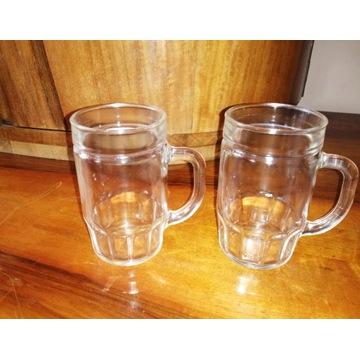Szklanka kufel szklany kubek 2szt