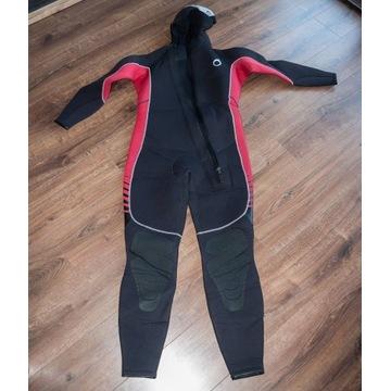 Pianka do nurkowania pływania 7,5mm kaptur SUBEA