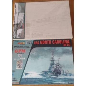 Model kartonowy GPM North Carolina szkielet