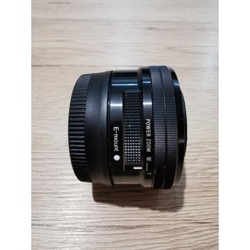 Obiektyw Sony E PZ 16-50mm OSS czarny