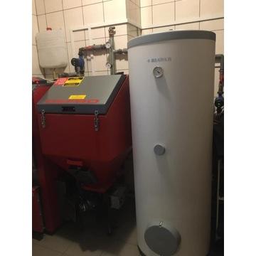 DEFRO Komfort Eco Duo ze zbiornikiem CWU oraz pomp