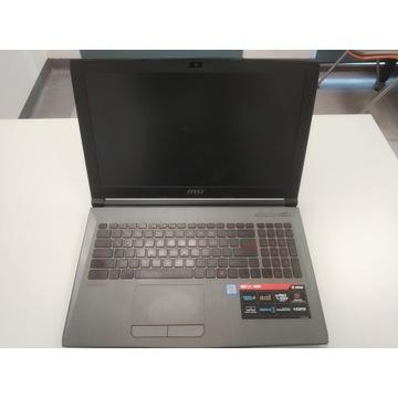 Laptop MSI GV62 8RE 16GB/480SSD/1000HDD/GTX1060