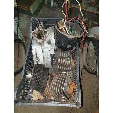 wfm wsk 125 cylinder, kartery, lampa, zapłon / isk