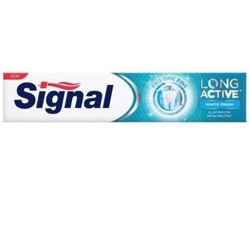 Signal Long Active White Fresh pasta do zębów 75