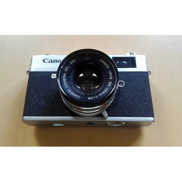 Aparat Canon Canonet QL 19