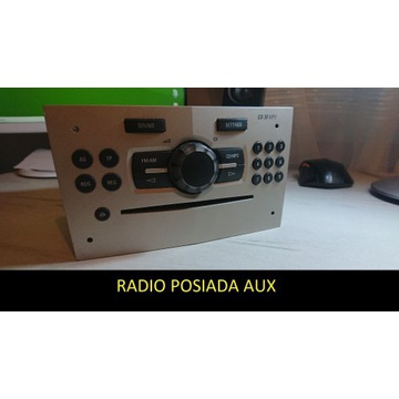Radio WYLOGOWANE i SPRAWNE CD30 MP3 z Aux CORSA D