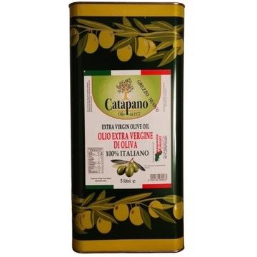 Włoska oliwa 100% Świeżo tłoczona! NIEFILTR. 5l.
