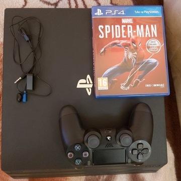 Ps4 Pro 1tb + Marvel Spider-man Darmowa wysyłka