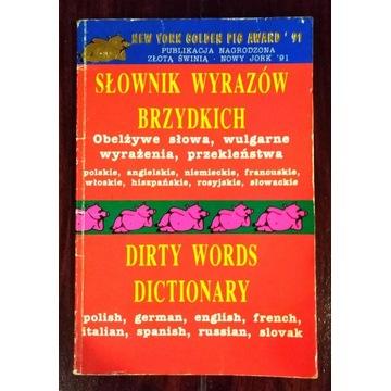 """""""Słownik wyrazów brzydkich"""" - 8 języków."""