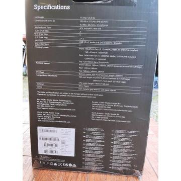 Obudowa Cooler Master Case Pro 5 Okno ATX MicroATX