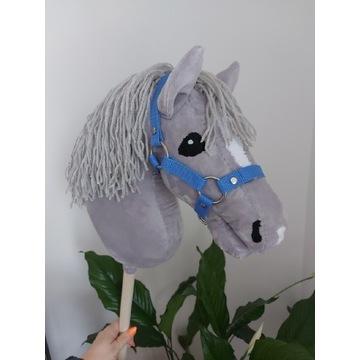 Hobby horse z kantarem koń na kiju różne kolory