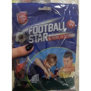 Football star gra śmieszna na palce