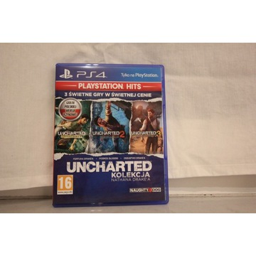 Uncharted Kolekcja Nathana Drake'a Ps4