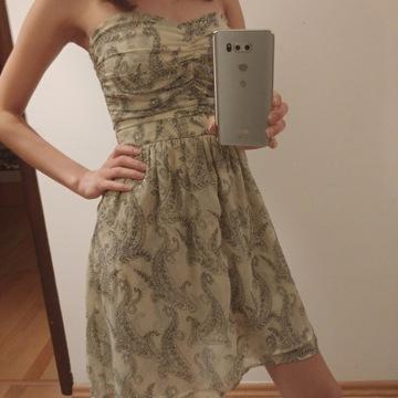 Sukienka letnia mango xs