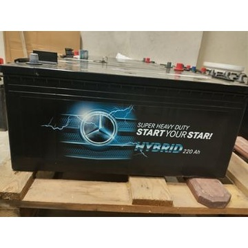 Akumulator Mercedes-Benz 12V 220Ah  Jeżowe