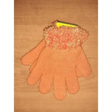 Nowe rękawiczki dziecięce 15cm dla dziewczynki