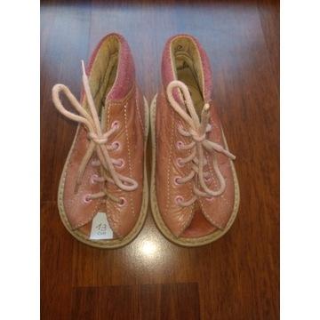 buciki dla dziewczynki rozmiar 21, stópka 13 cm