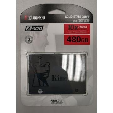 Dysk SSD Kingston A400 480GB NOWY