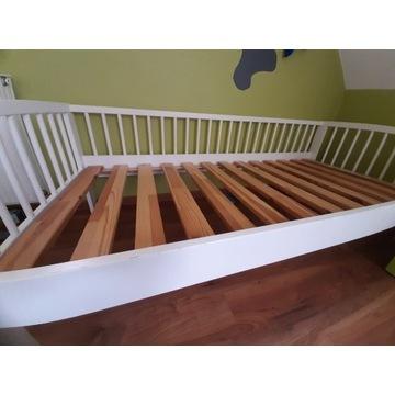 Łóżko dziecięce drewniane ikea