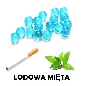 100x MOCNA MIĘTA ICE kulki smakowe do papierosów