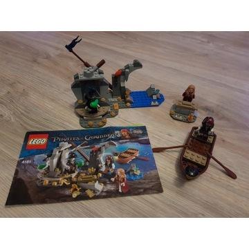 LEGO 4181 Piraci z Karaibów - Wyspa Umarłych