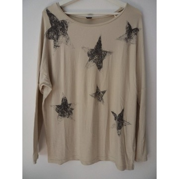 Riccovero śliczna bluzka oversise M/L