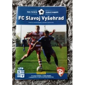 Program meczowy Slavoj Vysehrad Sokol Zivanice CZE