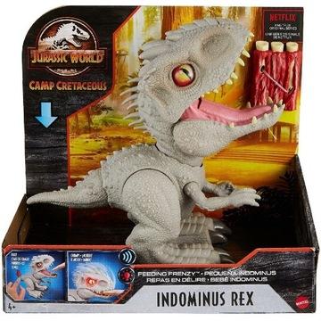 INTERAKTYWNY Indominus Rex JURASSIC WORLD DINO
