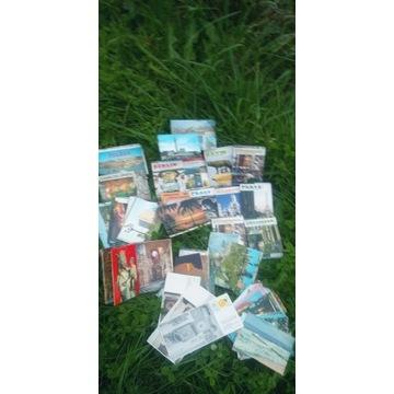 Stare widokowki 100 szt kartki pocztowe l.60 do 90