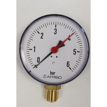 Manometr grzewczy RF 100 rad 0-6bar