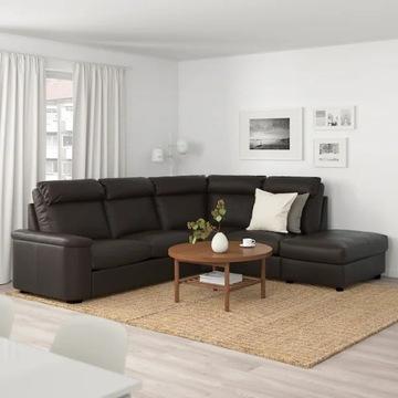 LIDHULT 5-os sofa narożna rozkładana Grann/Bomstad