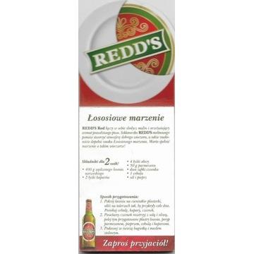 REDD'S MAGNES NA LODÓWKĘ Z NOTATNIKIEM