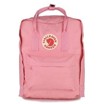 Kanken Fjallraven 16L pink różowy