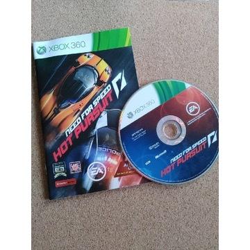Need for Speed Hot Pursuit, pudełkowa, XBOX360