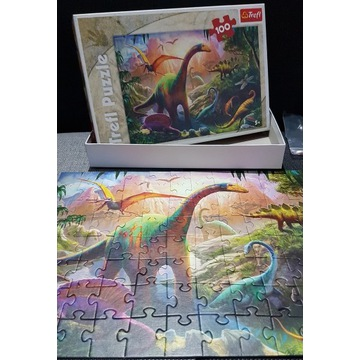 Puzzle Dinozaury