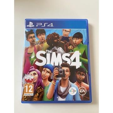 The Sims 4 PL - raz używana PS4